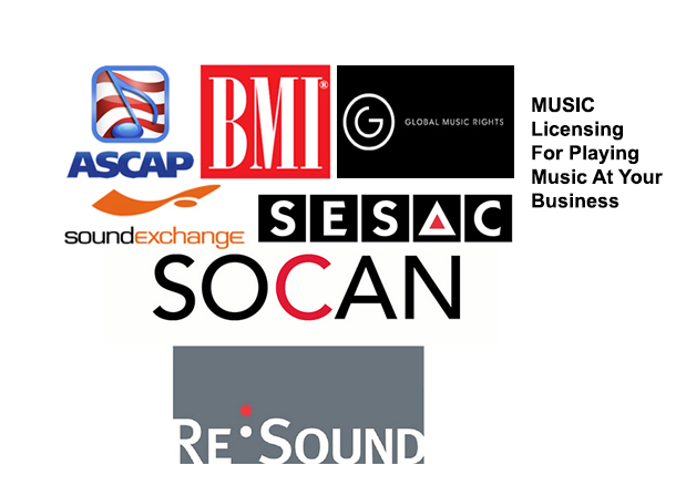 StoreStreams pays music royalties to these collection agencies