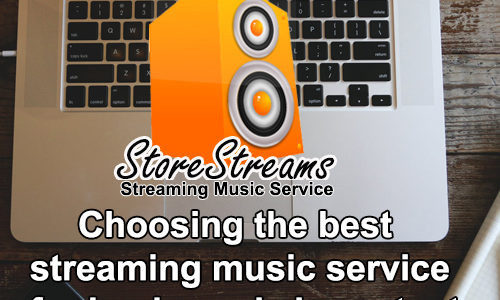 Choosing the best streaming music service for business is important for your place of business.